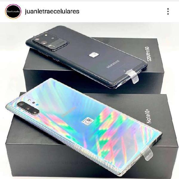 Samsung galaxy note 10 plus 256gb nuevos + factura + tienda