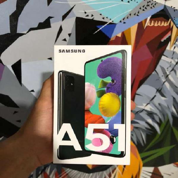 Samsung galaxy a51 nuevo garantia y factura legal doble sim