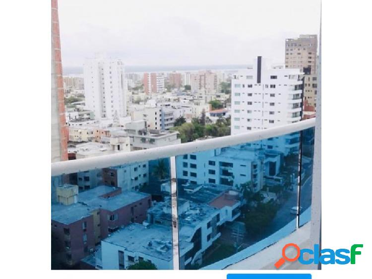 Apartamento en venta piso alto, en altos de riomar