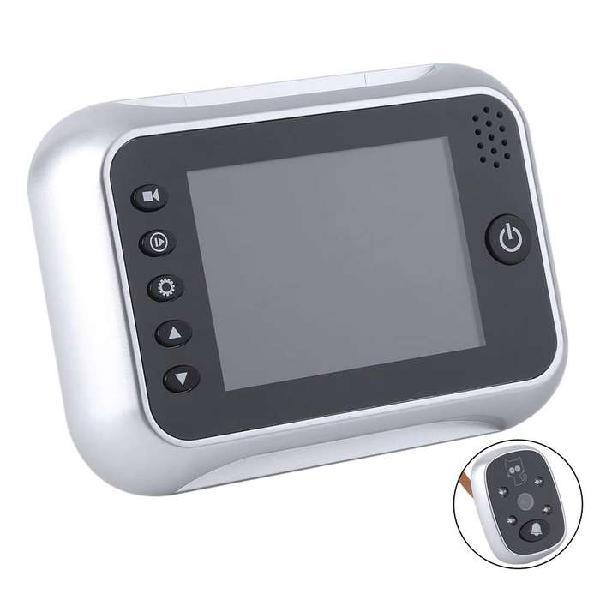 Mirilla digital timbre con cámara y pantalla lcd 3,5´ -