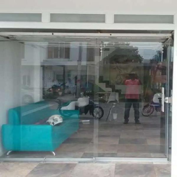 Puertas en vidrio de seguridad