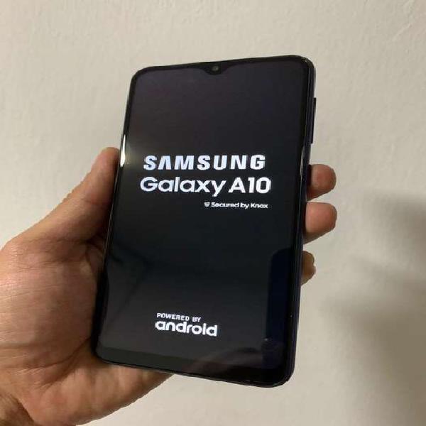 Samsung galaxy a10 azul 32 gb buen precio