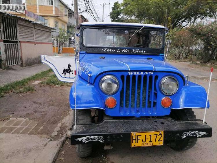 "Ven-permuto jeep willys modelo 64 ""original"""