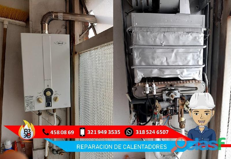 Mantenimiento de Calentadores Haceb