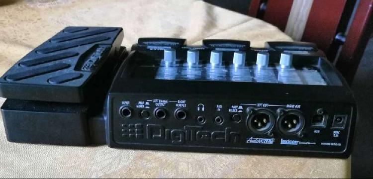Pedalera digitech rp355 (usada)