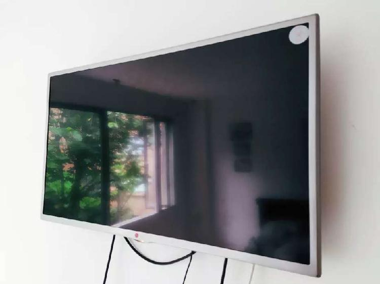 "Televisor lg led smart tv hd 32"" + teatro en casa samsung"