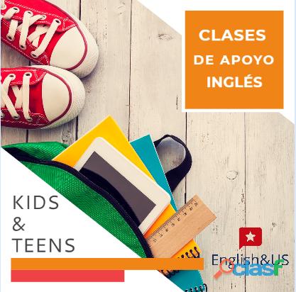 Clases de apoyo Inglés niños y adolescentes