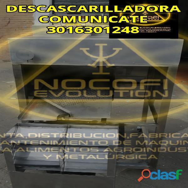 DESCASCARILLADORA REFINADOR DESCASCARILLADORA CLASIFICADORA MESA VIBRADORA PRENSA EXTRACTORA MOLINO