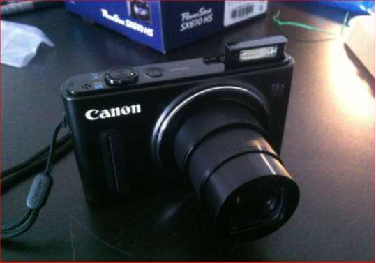 Camara canon powershot sx610hs wifi