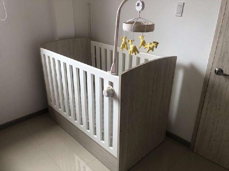 Cuna corral para bebe en madera