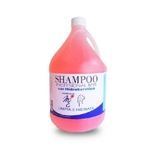 Shampo sin sal con hidrokeratina 4000ml (4lts) mye