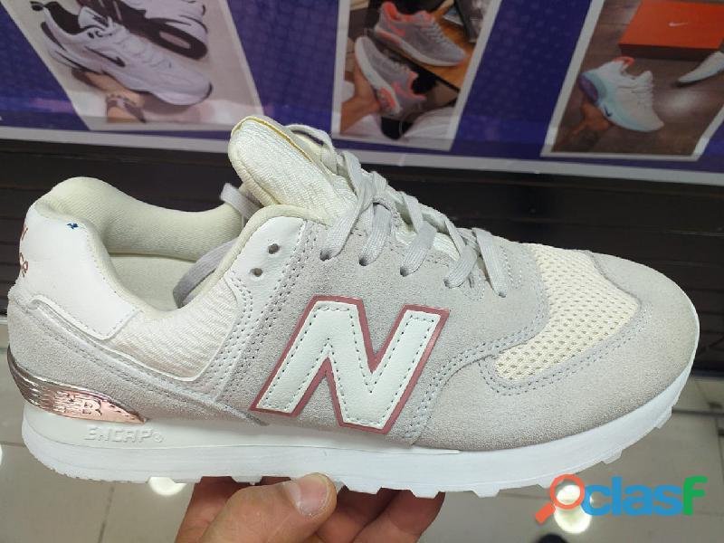 Zapatos tenis blanco nb (importado) código   sku: 0035