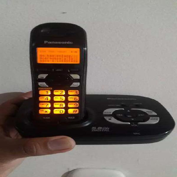 Panasonic con identificador, altavoz y contestador