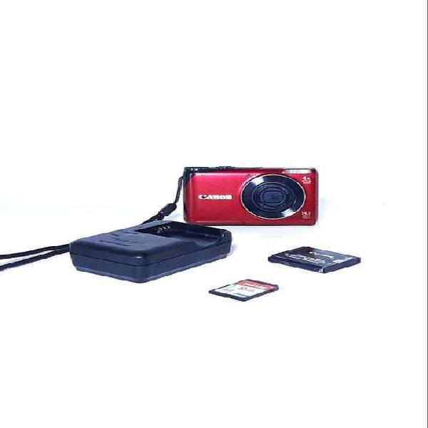 Remate!! cámara canon powershot a2200 hd cámara digital