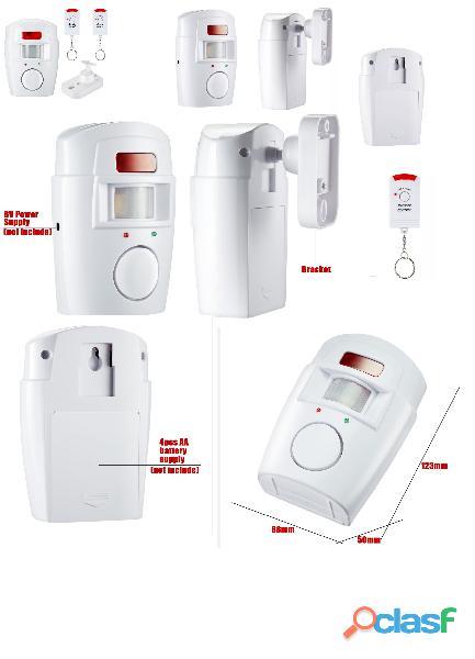 Alarma Casa Inalambrica Incluye 2 Controles / Seguridad Hogar
