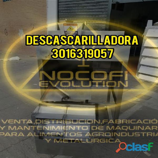 Maquina descascarilladora de cacao nocofi / descascarilladora de cacao fácil de operar