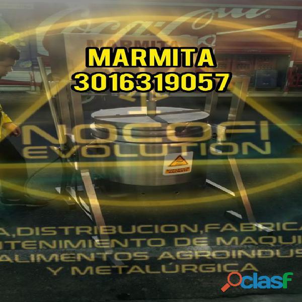 Marmita Industrial capacidad de 50 litros (MARMITA)