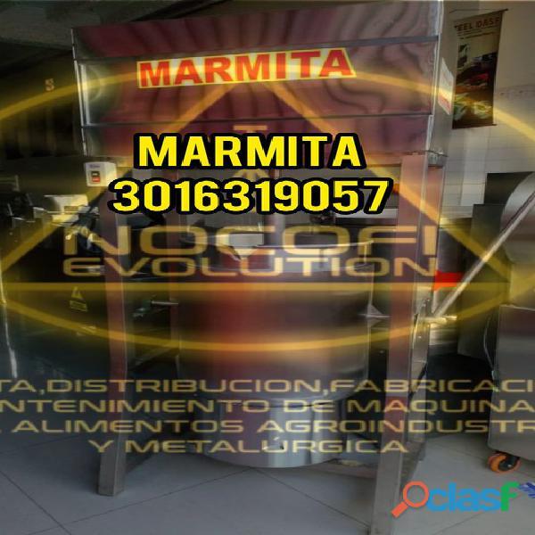 Marmita lácteos, Marmita reposterías, marmita para yogurt (MARMITA)