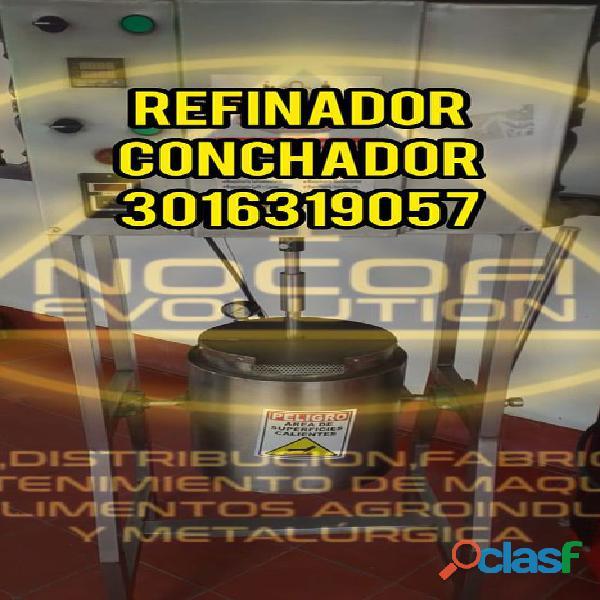 MOLINO REFINADOR DE CHOCOLATE MELANGER NOCOFI2020 (REFINADOR)