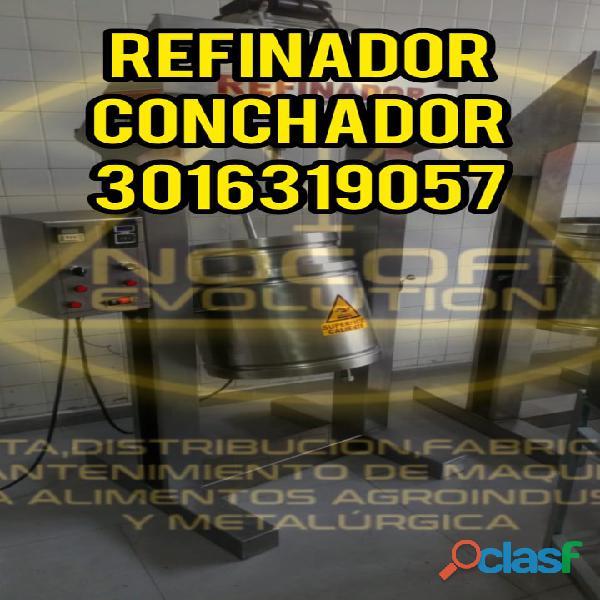 REFINADOR DE BOLAS NIBS FACIL DE OPERAR / REFINADOR / REFINADORA / CONCHADOR