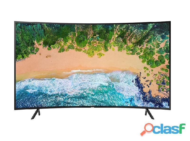 "Televisor Samsung 55"" pulgadas NU7300 Curvo Smart 4K UHD 1"