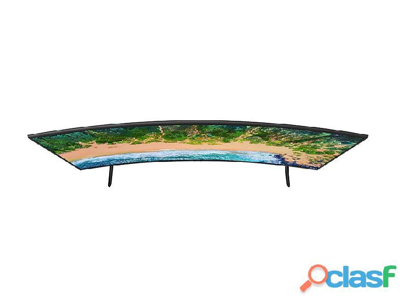 "Televisor Samsung 55"" pulgadas NU7300 Curvo Smart 4K UHD 3"