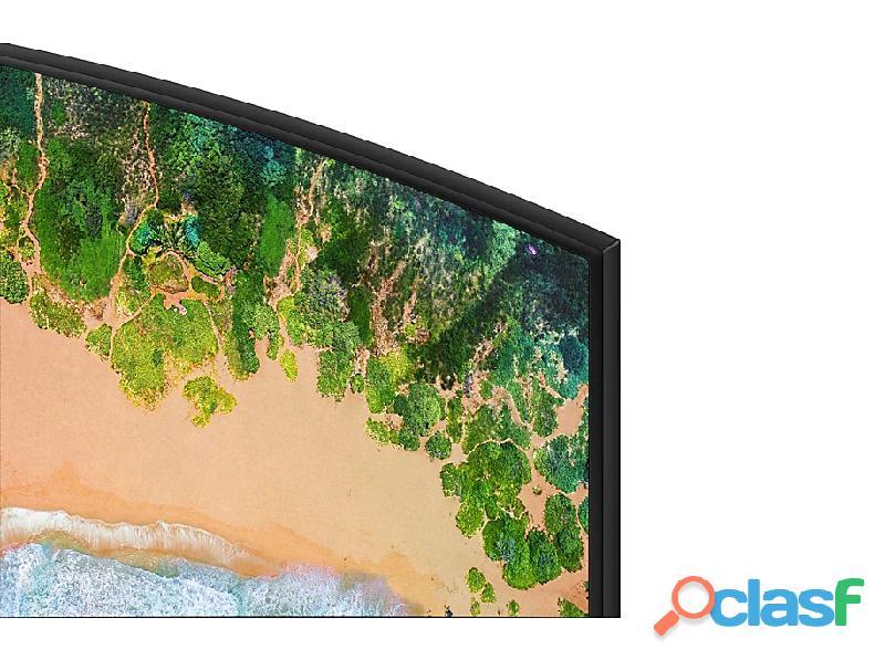 "Televisor Samsung 55"" pulgadas NU7300 Curvo Smart 4K UHD 4"