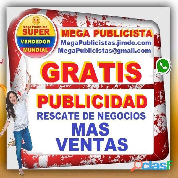 ⭐ gratis, mega publicistas, ultra vendedor, super publicista, agencia publicidad, cucuta, ocaña, vil