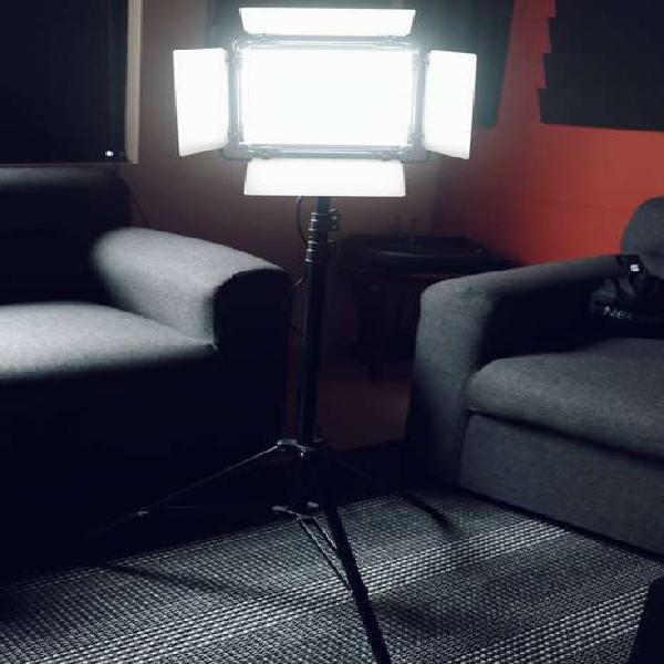 Luz led para fotografia o video