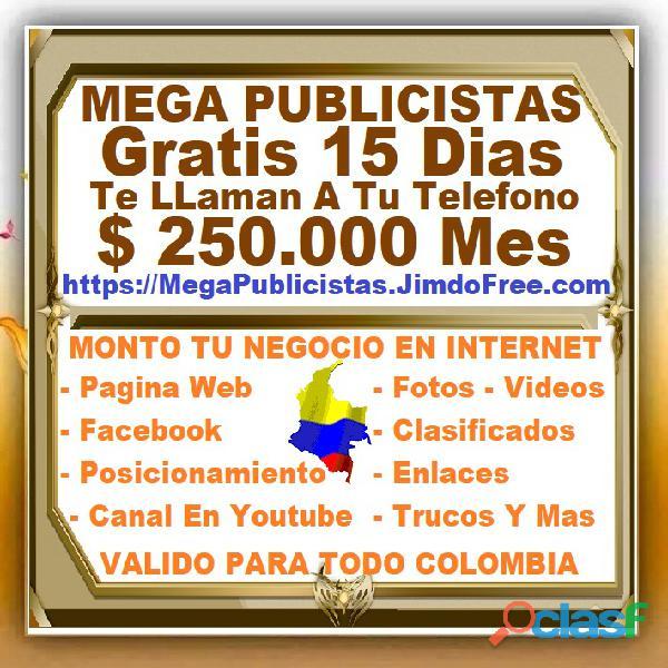 ⭐ gratis, mega publicistas cartagena, agencia publicidad, super publicista, ultra marketing digital,
