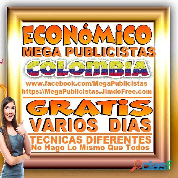 ⭐ GRATIS, Mega Publicistas CARTAGENA, Super Publicista, Ultra Agencia Publicidad, Marketing Digital, 1