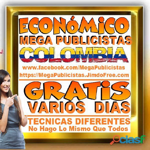 ⭐ GRATIS, Mega Publicistas CARTAGENA, Super Publicista, Ultra Agencia Publicidad, Marketing Digital, 2