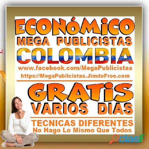 ⭐ GRATIS, Mega Publicistas CARTAGENA, Super Publicista, Ultra Agencia Publicidad, Marketing Digital, 3