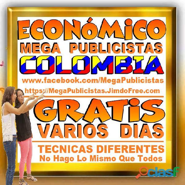 ⭐ GRATIS, Mega Publicistas CARTAGENA, Super Publicista, Ultra Agencia Publicidad, Marketing Digital, 4