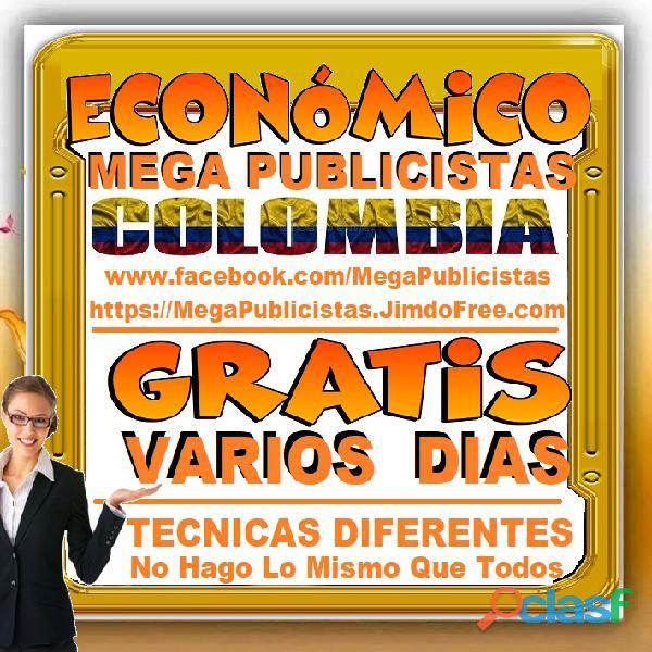 ⭐ GRATIS, Mega Publicistas CARTAGENA, Super Publicista, Ultra Agencia Publicidad, Marketing Digital, 5