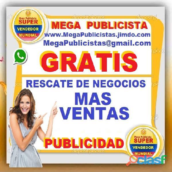 ⭐ gratis, mega publicistas, ultra vendedor, super publicista, agencia publicidad, cartagena, magangu