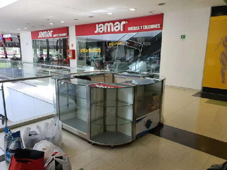 Burbuja para centro comercial - vitrinas