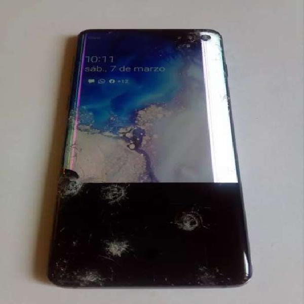 Samsung galaxi s10 libre para repuestos.