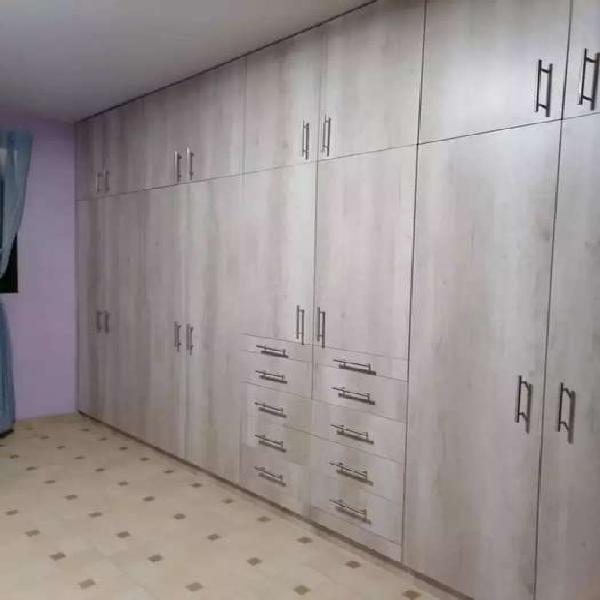 Se fabrican closet puertas muebles para tv en melamina rh se