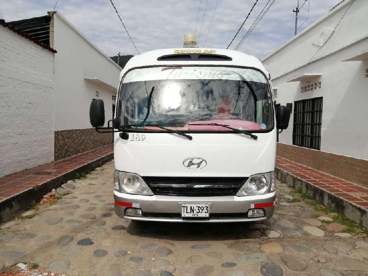 Buseta hyundai county 2013