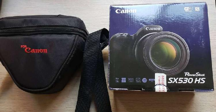 Canon powershot sx 530 hs cámara digital + sd 64 gb +