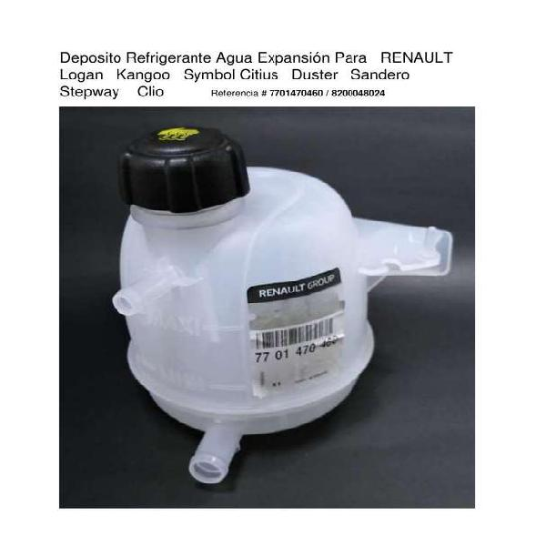 Deposito frasco expansion refrigerante agua logan duster