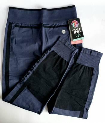 Pantalón deportivo tall azul m