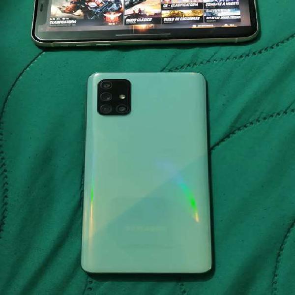 Samsung galaxy a71 dual sim solo funciona 1 puerto
