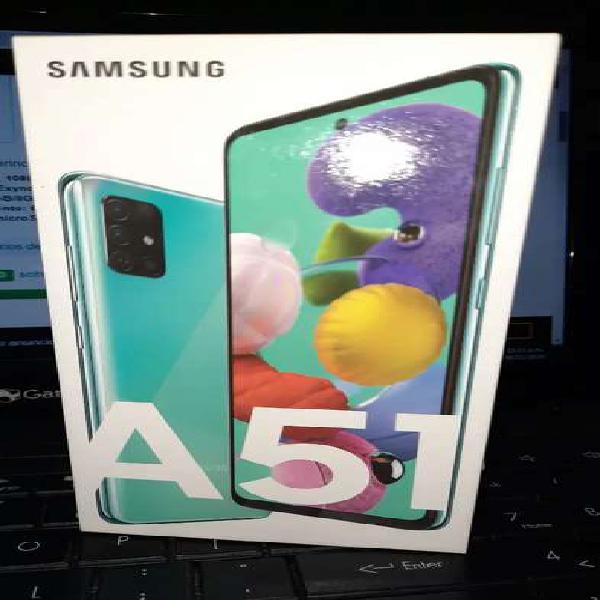 Vendo samsung a51 nuevo caja original