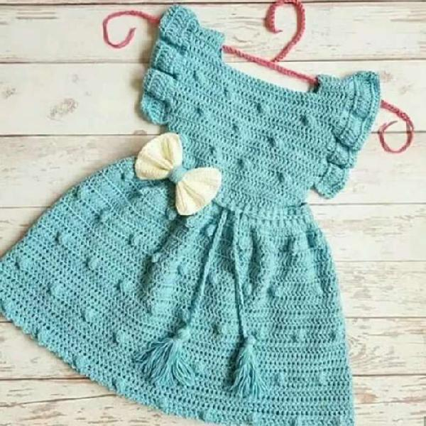 Vestidos tejidos niña