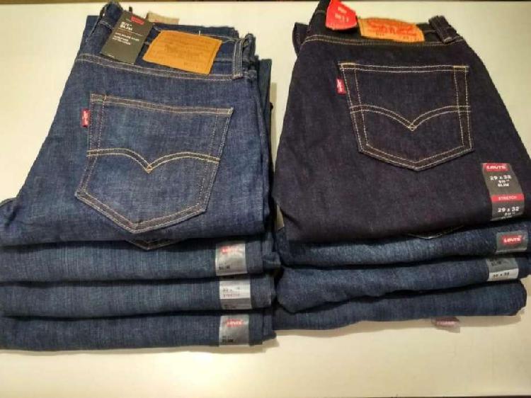 Jean pantalon levis original 511 slim 501 clasico importado