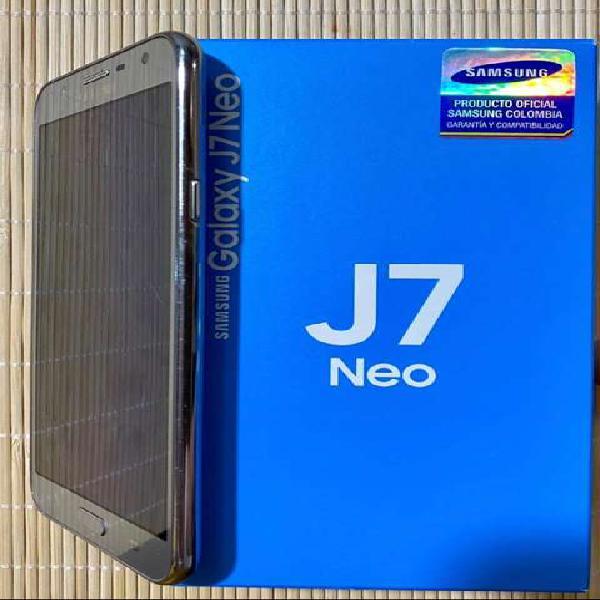 Samsung j7 neo duos, excelente estado, todo original.