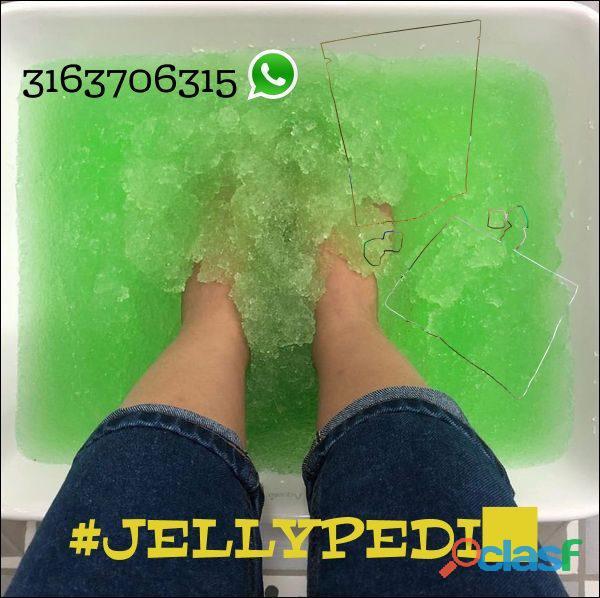 Las experiencias únicas del spa, directamente en tu salón de belleza. el jellyspa