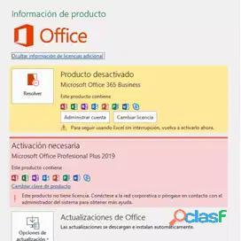 Venta, instalación, reparación, mantenimiento, activación de Microsoft Office para Windows, Mac.